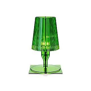 Kartell Take Lampada da Tavolo, Verde, policarbonato ...