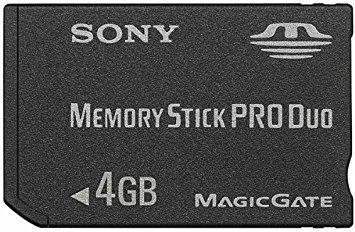 ELTON Psp Camera 4 GB Stick Pro Duo Magic Gate Memory Card for SONY