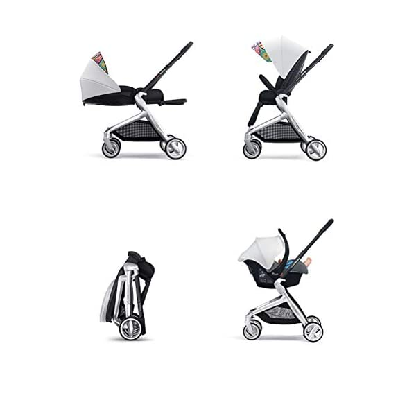 ZZLYY Lightweight Baby Stroller for Toddler Travel, Infant Convenience Stroller,Portable Airplane Travel Carry On Strollers,Folding Umbrella Pram,Blue ZZLYY S 8