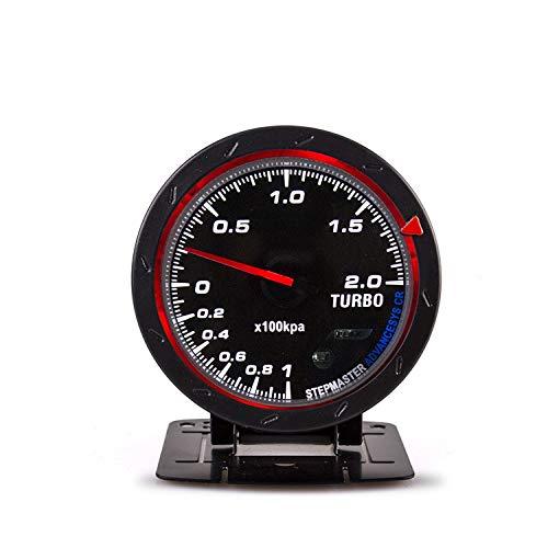 AM-GPS Speedometer Ligera Indicador Turbo Boost de 60 mm for automóvil -1~2 × 100kpa Luz de Fondo...