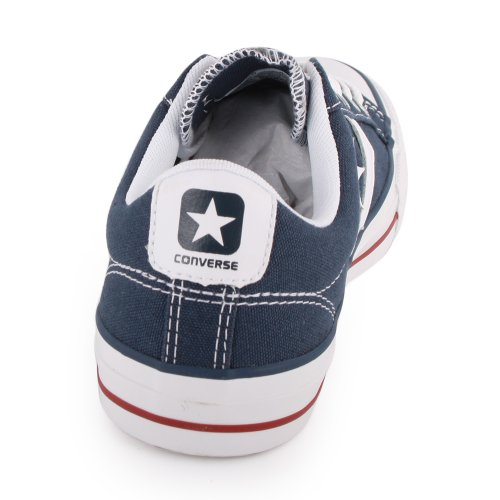Converse Star Player Core Canvas Ox, Sneaker Unisex-Adulto (Marine weiss)