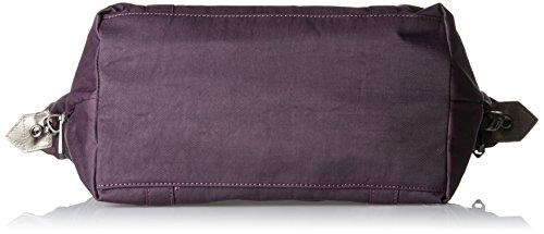 Kipling Damen Art S Henkeltasche, 44 x 27 x 18 cm Violett (Deep Velvet)