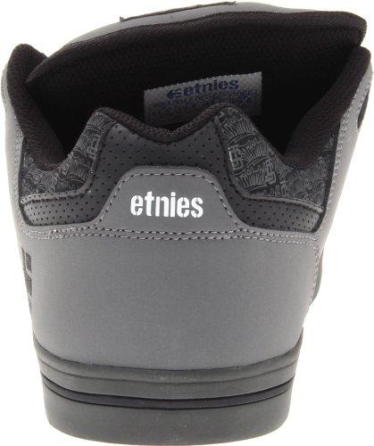 Etnies  Fsas X Twitch Rockfield,  Herren SchnürHalbschuhe grey/black