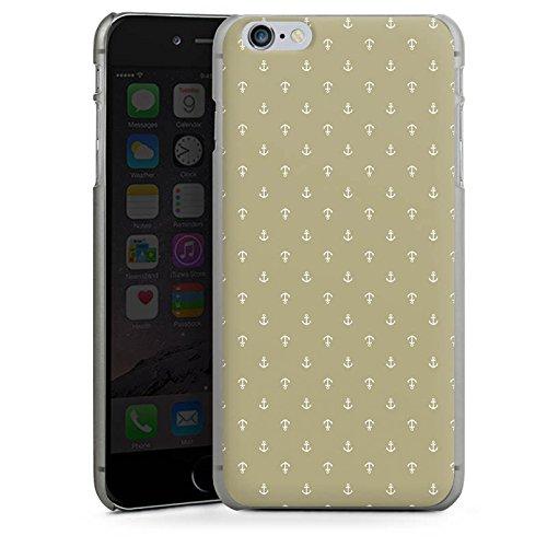 Apple iPhone 5s Housse Étui Protection Coque Ancre Vintage Rétro Collection CasDur anthracite clair