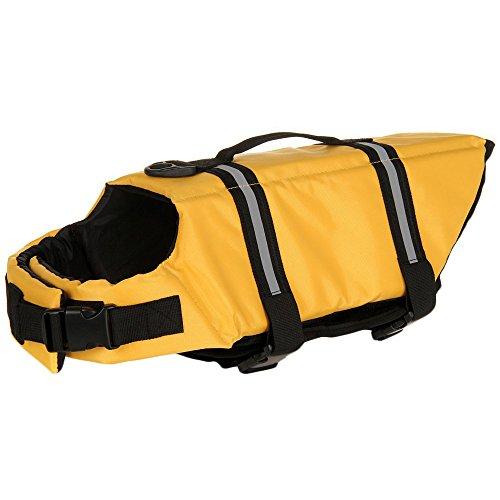 SILD color Pet Chaleco salvavidas tamaño ajustable perro Salvavidas Seguridad Chaleco reflectante...