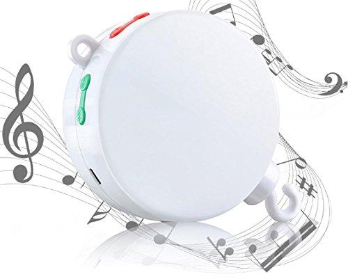 mytk NUOVA, versione migliorata del elettrici, batteriebetriebenen carillon con slot Micro SD per per Baby-Mobiles inclusa 128MB Scheda Micro SD con 12melodie. Estensibile fino a 64GB