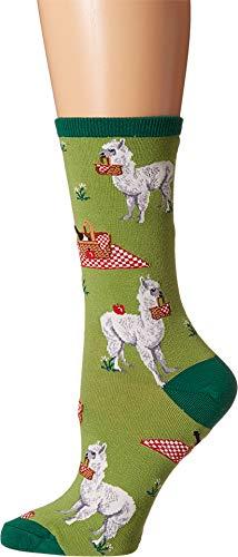 Socksmith Alpaka-Mittagessen Socken Grün - Picknick-korb Uk
