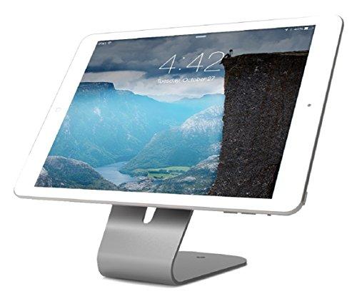 b universeller Stand für alle Smartphones & Tablets [Diebstahlgeschützt | Abschließbar | 60 Grad Neigungswinkel] - HOVERTAB ()