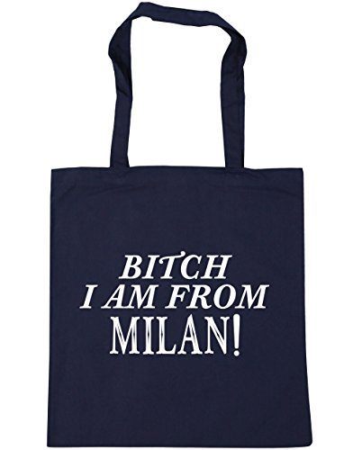 hippowarehouse-bitch-i-am-from-milan-tote-shopping-gym-beach-bag-42cm-x38cm-10-litres