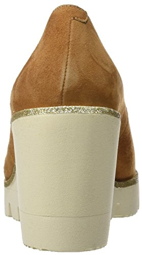 Calzados Marian 23400, plateforme femme Marron (cuir)