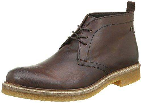 Base London Rufus, Desert Boots Homme Marron (Pull Up Tan)