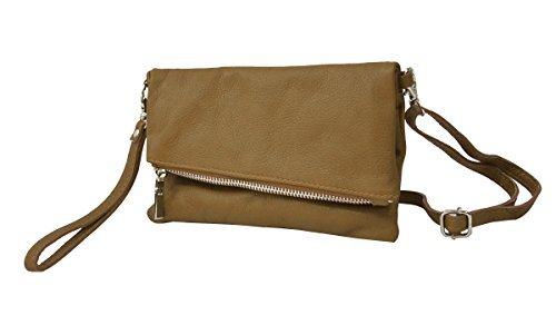 Bags4Less Damen Venezuela Clutch, 3x33x19 cm Khaki