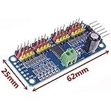 PCA9685 16 Channel 12bit PWM Servo motor Driver I2C Module F Arduino Robot WC by royfee