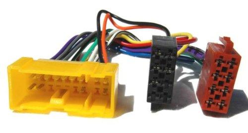 # Autoradio # Autoradio Adapter Kabel für Nissan Almera, Tino, Primera, Micra, X-Trail, und mehr 1999auf ISO (Spannung + und 4Lautsprecher)