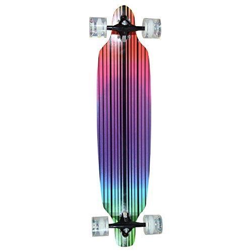 """Hansson.Sports Top Longboard Komplett Skateboard Long Board 39"""" (99cm) Ecstasy"""