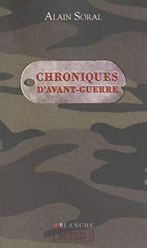 Chroniques d'avant-guerre (Kontre-culture)