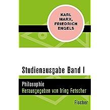 Studienausgabe in 4 Bänden: I. Philosophie