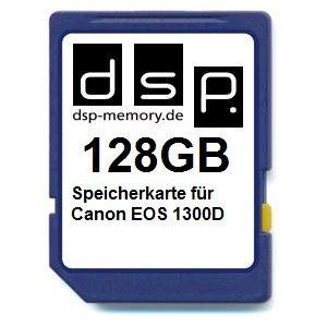 DSP Memory Z-4051557436954 128GB Speicherkarte für Canon EOS 1300D