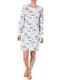 auch in /Übergr/össen bis 60//62 NORMANN W/ÄSCHEFABRIK Damen Flanell Nachthemd im edlen Karodesign zum durchkn/öpfen