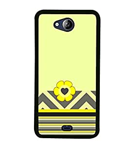 PrintVisa Aztec Two Step High Gloss Designer Back Case Cover for Micromax Canvas Play Q355