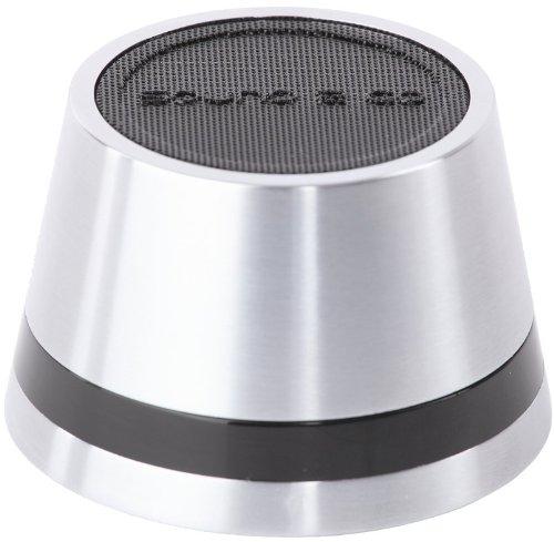 SOUND2GO DOME – Bluetooth 4.0 Lautsprecher mit Freisprecheinrichtung und Bluetooth Adapter via Line-Out