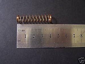 Brass-Fix Uk Set Of 3 Valve Springs For Cornet,Trumpet / Tenor Horn [S80]