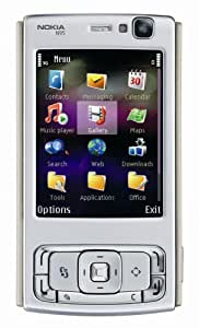 Nokia N95 - WIFI GPS 5MP 2.6''Screen WIFI 3G Unlocked Imported