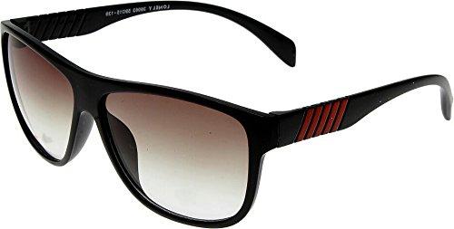 Elijaah Black Large UnisexOval Sunglasses 39063_Blackgreen
