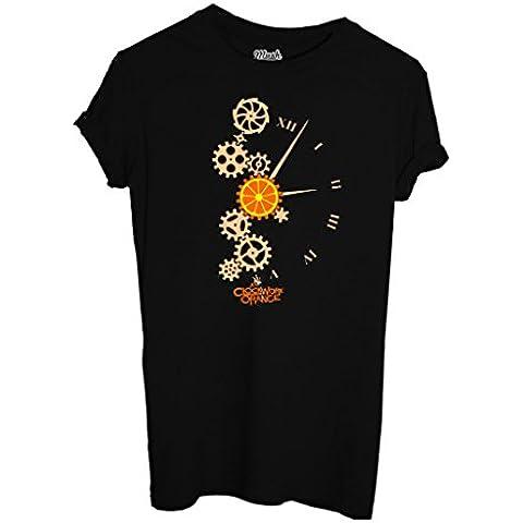 T-Shirt A CLOCKWORK ORANGE 2 - ARANCIA MECCANICA - FILM by iMage Dress Your Style - Uomo-L-NERA