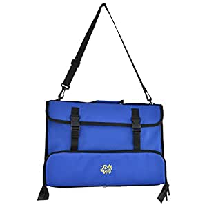 Tomandwill 99MC Sacoche pour partitions et accessoires Bleu marine
