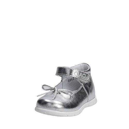 Ciao Bimbi 2262.30 Ballerinaschuhe Mädchen Silber