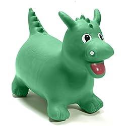 HappyHopperz - HHZ11 - Jouet de Premier Age - Dinosaure - Vert - 18 mois à 5 ans
