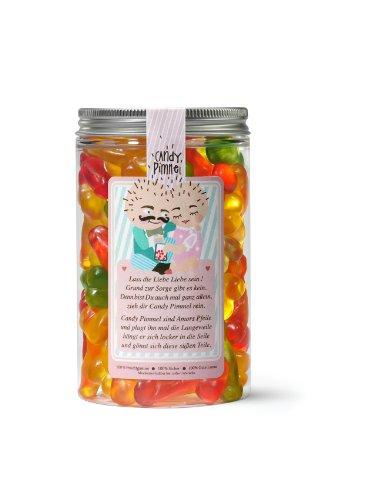 Candy Pimmel – Zuckerhimmel, 300 Gramm Naschdose, Fruchtgummis in Penis Form, witziges Geschenk für Freunde – der Partyknaller auf jeder Feier