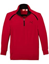 Puma Golf Tech Pull technique manches longues 1/2 zip Enfant