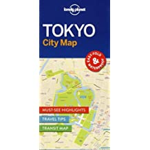 Lonely Planet TokyoCity Map (Travel Guide)