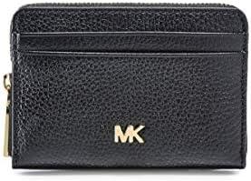 MICHAEL Michael Kors Women's Mott Zip Around Coin Card Case - Black