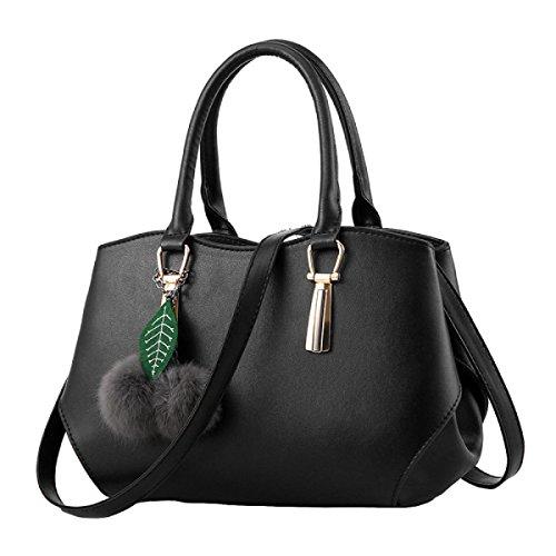 Handtaschen Elegante Handtaschenschulter Kurierbeutelart Und Weisefreizeit Black