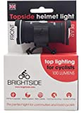 Topside 100 Lumen Bike Helmet Light Rechargeable Dual Front & Rear Bike Light.