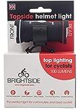 Topside 100 Lumen Bike Helmet Light Rechargeable Dual Front & Rear Bike Light