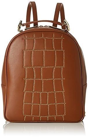 Cavalli Croco Lux, Sac à main porté au dos pour femme - marron - Marron (Cognac),