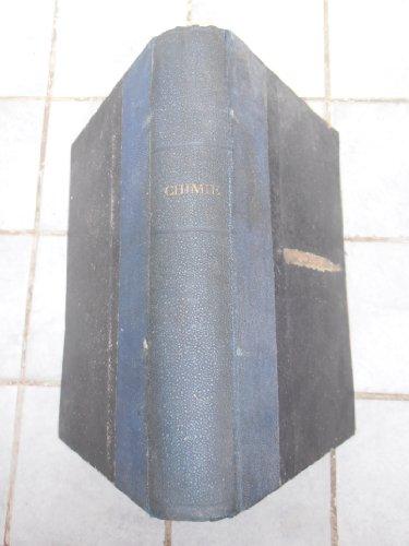 Chimie générale et appliquée, par M. J. Girardin,... 1re -4e année par Jean Girardin