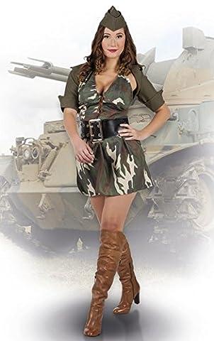 Boland 83587 - Erwachsenenkostüm Army Lady, Größe 40 / 42