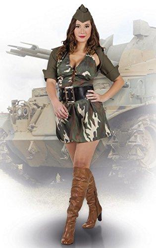 Boland 83587 - Erwachsenenkostüm Army Lady, Größe 40 / (Army Halloween Kostüme Für Frauen)