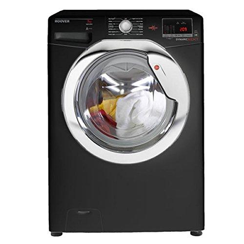 Hoover DXOC68C3B Washing Machine Glossy Black Freestanding 8kg 1600rpm A+++ Energy Rating A Wash Rating 16 Programmes