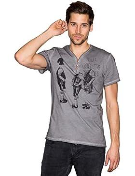 Krüger - Herren Trachten T-Shirt, Trachten Buam (Artikelnummer: 94209-44)