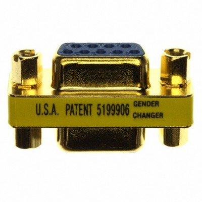 Tripp Lite P150-000 - Compact Gold Gender Changer DB9F/F - Db9 F/f Gender Changer