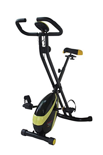 Olympic 2000 Compact Exercise Bike – Black/Black