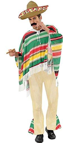 Ciao Blumen Paolo 25954.l?Mexikanisches Kostüm für Erwachsene, Größe L Taglia XL Preisvergleich