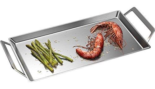 AEG A9KL1 Hot plate - Piezas y accesorios de hornillos (Hot plate, Acero inoxidable, Placa de sellado, 261 mm, 175 mm, 20 mm)