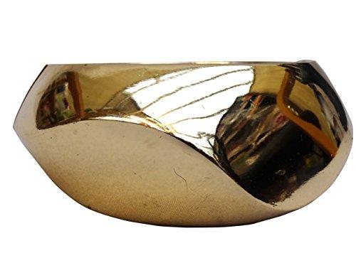 Einzigartig geformtem Armband Schmuck Gold Farbe Kostüm Trend Damen Armreif Geschenk (Kostüm Schmuck Armbänder Uk)